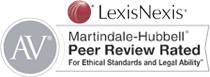 LexisNexis AV Martindale-Hubbell Peer Review Rated